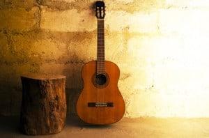 Gitarrennoten für Konzertgitarre, akustische Gitarre und klassische Gitarre
