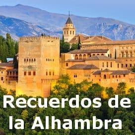 Recuerdos de la Alhambra Gitarrennoten gratis