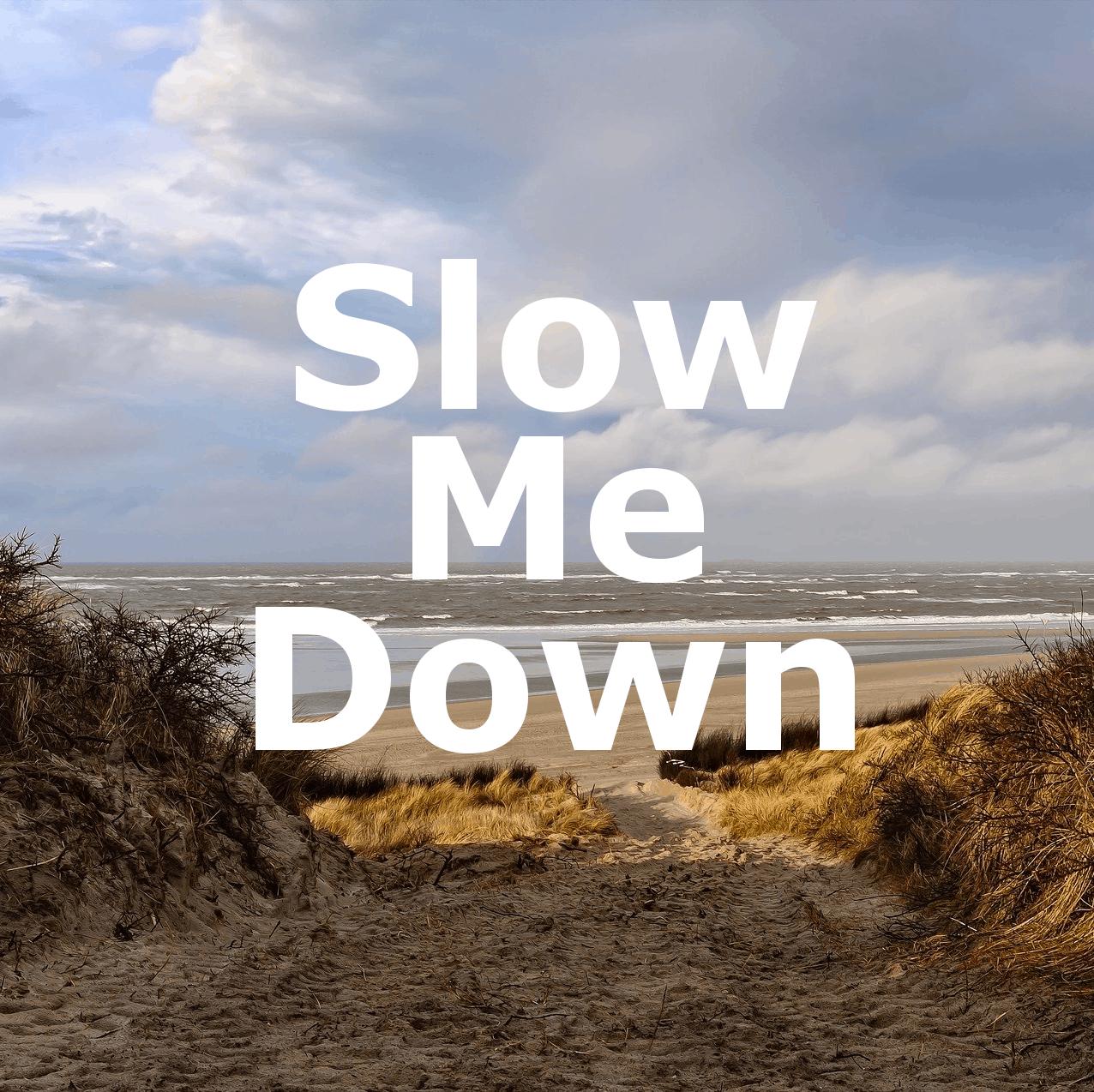 Slow Me Down - ein schönes neues Gitarrenstück von Andreas Hövelmann