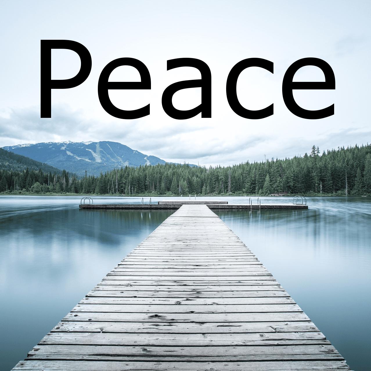 Peace - ein schönes Stück für akustische Gitarre